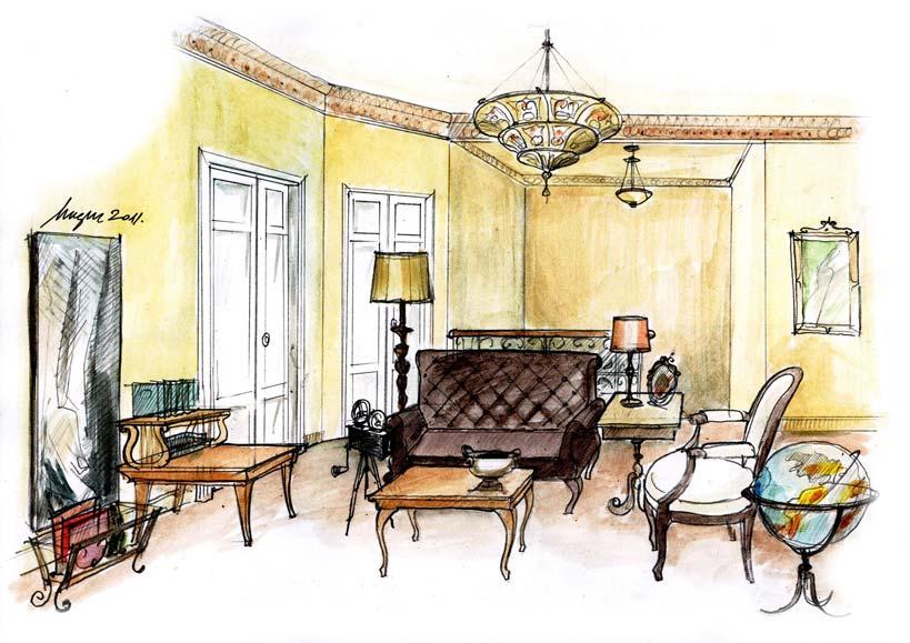 design interior living eclectic
